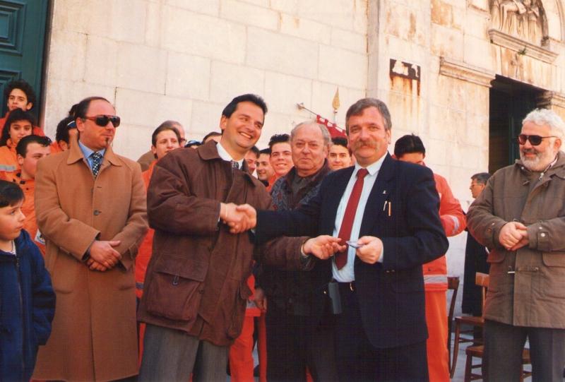 Inaugurazione - anni 90