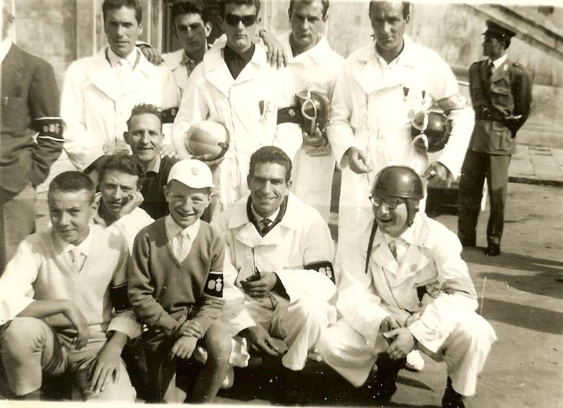 Motociclisti Misericordia 1950