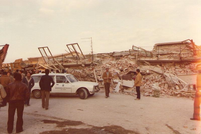 Terrmoto Irpinia - anni 80