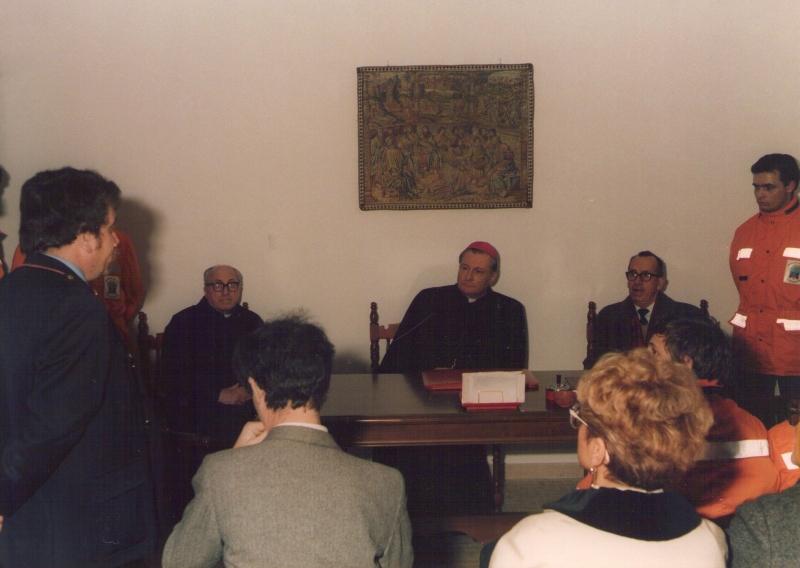 Visita del Vescovo - anni 90
