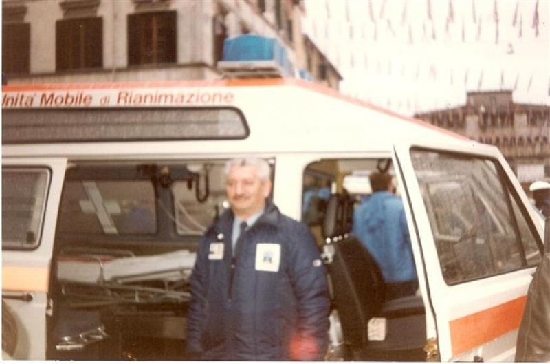 Auto 6 anni 90 - Volontario Marino Lucarini