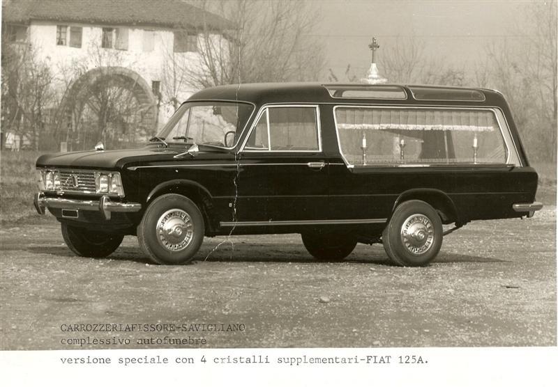 carro funebre fiat 125A