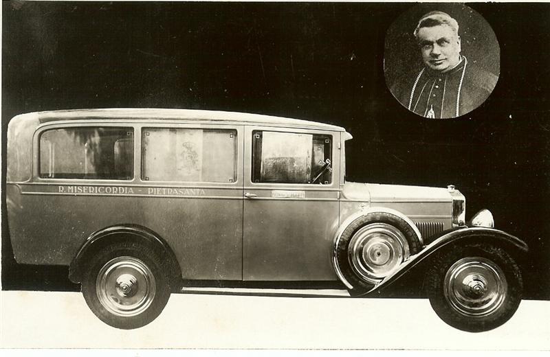 Cartolina postale misericordia 22 ottobre 1933