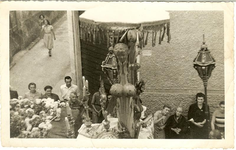 Processione gesu' morto 1950