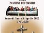 Sacra Rappresentazione della Passione del Signore 2012