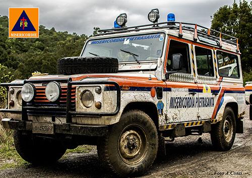 Jeep Misericordia di Pietrasanta