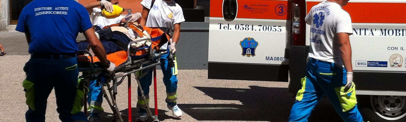 Ambulanza Misericordia di Pietrasanta