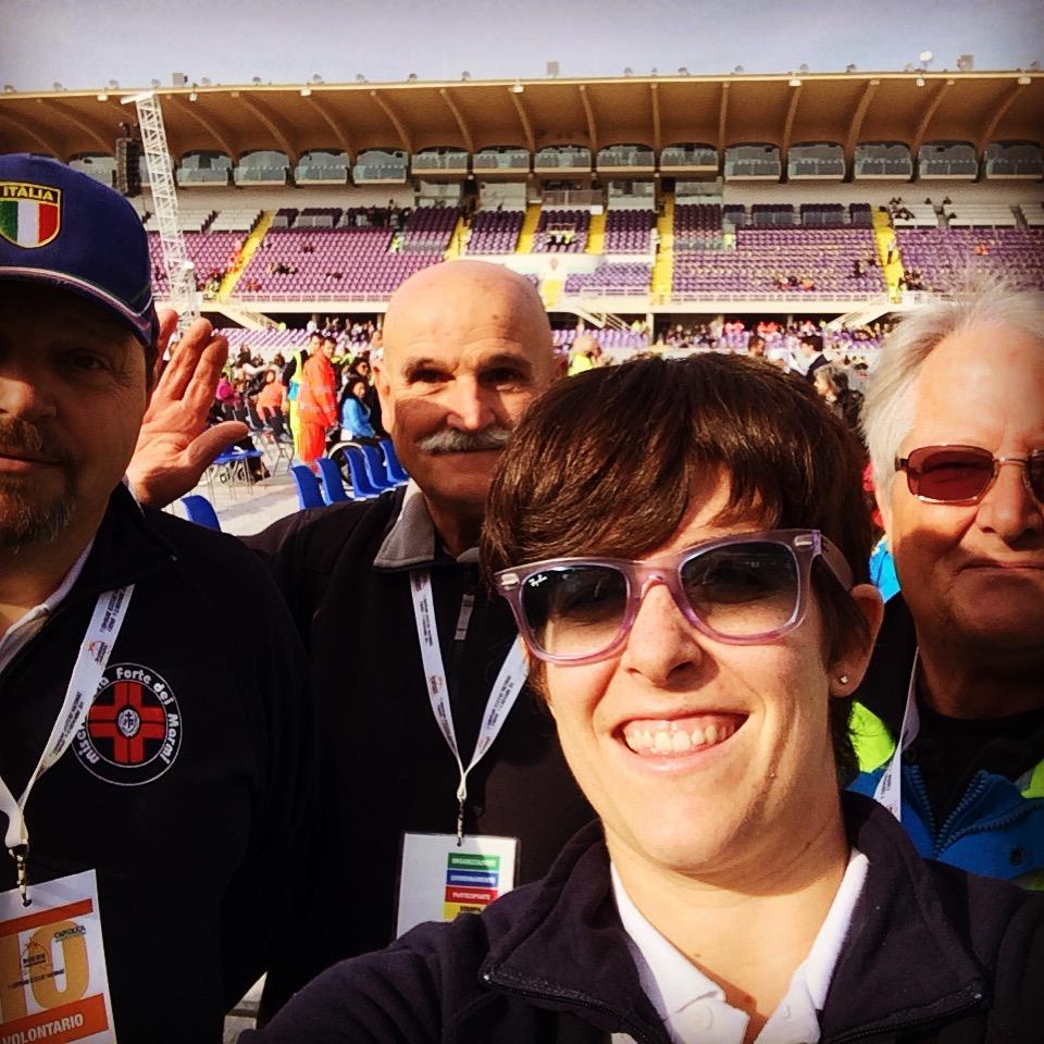 Volontari dal Papa a Firenze 2015