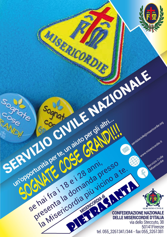Servizio Civile Misericordia Pietrasanta 2018