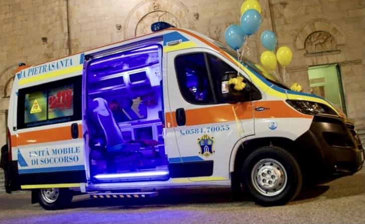 <p>La nostra nuova ambulanza…:) 11-11-2020</p>
